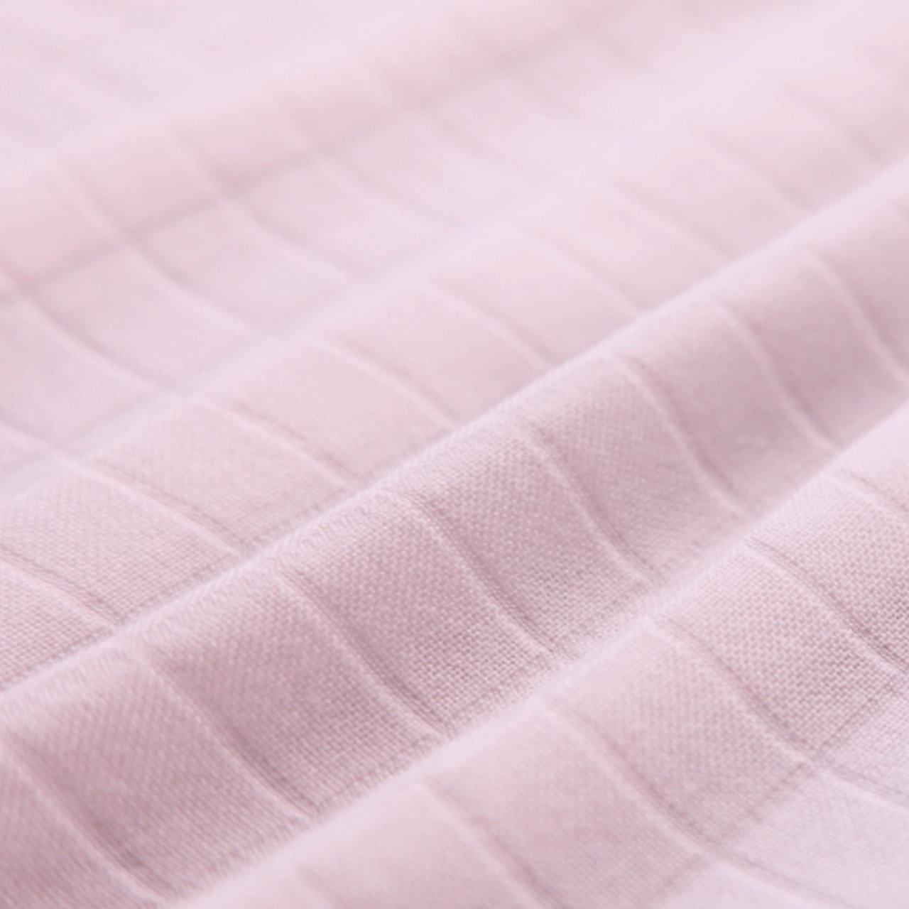 """Ткань муслин """"Розовый однотон"""", ширина 160 см"""