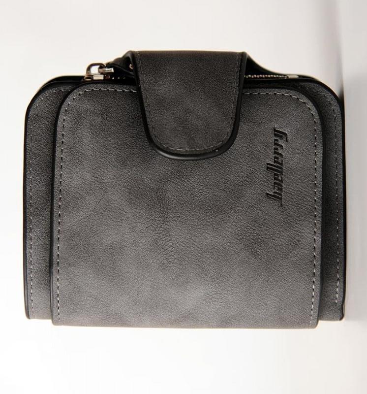 Женский кошелек Baellerry N2346 DARK GREY, Mini Клатч тёмно-серый