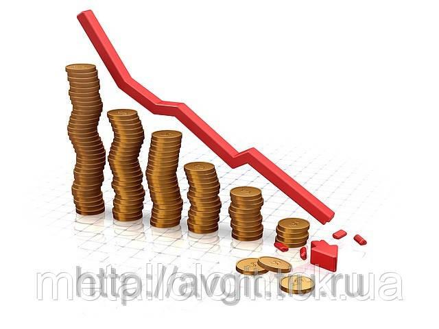 Цена на цветные металлы снизилась.