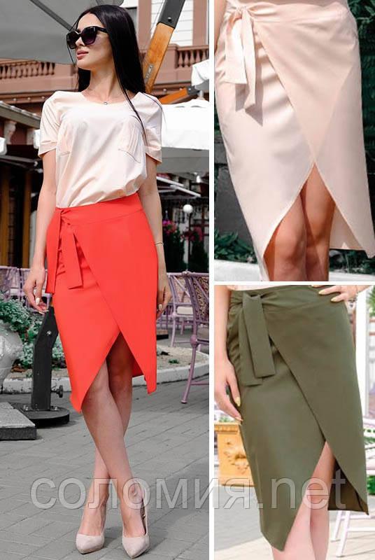 Модная женская юбка для офиса 42-60р