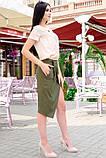 Модная женская юбка для офиса 42-60р, фото 5