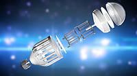 Светодиодная лампа – ловушка для насекомых Zapp Light (цоколь Е27, 220В)