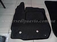 Ворсовые коврики в салон RENAULT Duster с 2010-2018 гг. 4/2WD (Черные)