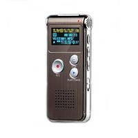 Цифровой диктофон с 8 Gb памяти, стерео микрофоном и MP3 плеером (модель VR-0028)