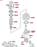 Опора амортизатора переднего киа Спортейдж 3, KIA Sportage 2010-15 SL, 546102t000, фото 5