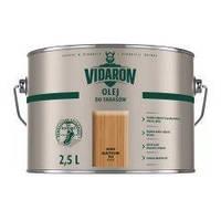 Террасное масло Vidaron Olej Do Tarasow (серый антрацит D 05) 2,5 л, фото 1