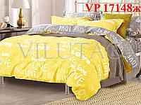 Постельное белье, евро комплект, ранфорс, Вилюта «VILUTA» VР 17148ж