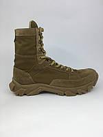 Тактические ботинки с высоким берцем койот