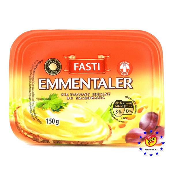 Fasti Сыр Эмменталь плавленный, 150г