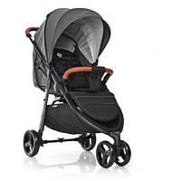 Прогулочная коляска со съемным бампером и дождевиком для малыша El Camino ME 1025 X3 Серая