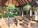 Мебель деревянная для дачи, кафе 2000*800 от производителя