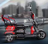 Трехколесный  скутер для инвалидов Бычок, фото 2