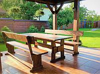 Мебель из дерева для дачи, дома, комплект деревянный 2200*800 от производителя