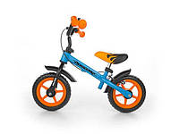 Беговел Milly Mally Dragon Brake - ручной тормоз Orange/Blue