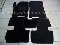 Ворсовые коврики в салон ЗАЗ Forza (Черные)