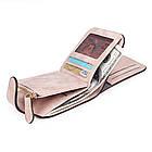 Женский кошелек Baellerry N2346 pink, Mini Клатч розовый, фото 4