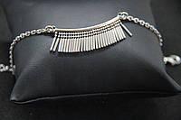 Браслет из серебра 925 Beauty Bar с бахромой