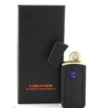 Зажигалка спиральная USB HF 18 5405, фото 2