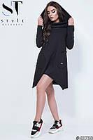 Женское платье-туника  Luxyart (размер S-M, L-XL)