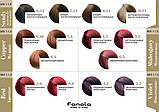 5.2 - Светло-коричневый фиолетовый Безаммиачная крем-краска для волос Fanola Oro Therapy Color Keratin , фото 7