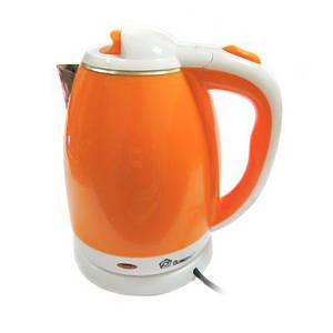 Электрочайник Domotec MS 5022 220V/1500W 2.0л оранжевый 150846