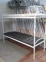 Кровати металлические одно- и двух ярусные
