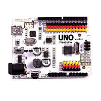 Freaduino UNO (аналог Arduino UNO з додатковими можливостями)