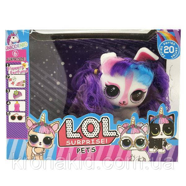 Игровой набор питомец Лол LOL pets с волосами 3 вида 11804 - аналог
