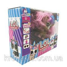 Игровой набор питомец Лол LOL pets с волосами 3 вида 11804 - аналог, фото 3
