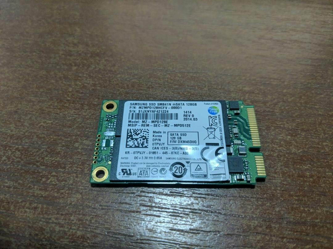 SSD MSATA Samsung SM841N 128 GB MLC