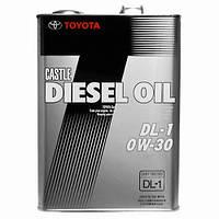 Моторне масло Toyota Diesel DL-1 (Тойота дизель) 0w-30 4л