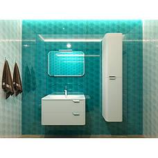 Пенал для ванной комнаты BOTTICELLI Velluto VltP-190-white, фото 2