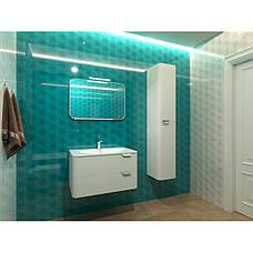 Пенал для ванной комнаты BOTTICELLI Velluto VltP-190-white, фото 3