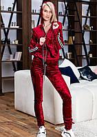 Женский летний спортивный костюм красный S M L