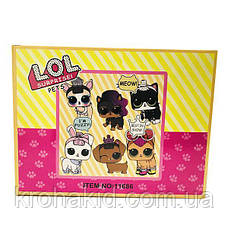 Игровой набор L.O.L Surprise Pets Лол питомец с волосами и аксессуарами 11686 - пахнет конфетами - аналог, фото 3