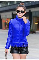 Модная  женская куртка плащевка, фото 1