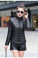 Куртка черного цвета из плащевки, фото 1