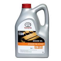 Моторное масло Toyota Motor Oil (Тойота) 0W-20 5л