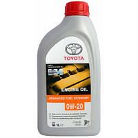 Моторное масло Toyota Motor Oil (Тойота) 0W-20 1л
