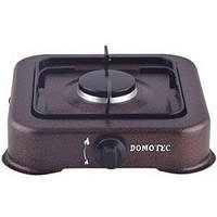 Настольный газовый таганок плита Domotec MS 6601 на 1 конфорку Коричневый (006754)