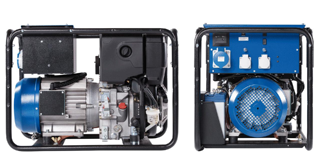 Однофазный дизельный генератор Geko 7801 E–AA/ZEDA (7.6 кВт)