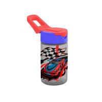 Бутылка д/воды пл. HEREVIN CARS 0.43 л д/спорта с трубочкой (161510-001)