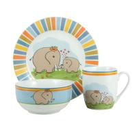 Набор посуды детск. Limited Edition ELEPHANTS 1/НАБОР/ 3 пр. короб (HYT17174)