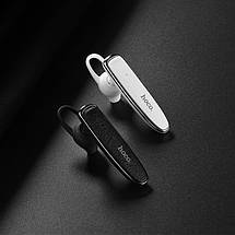 Bluetooth гарнитура для водителя Hoco E29 White, блютуз гарнитура хендс фри, hands free для авто, фото 3