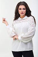 Женская блуза с кружевом. Ботал , фото 1