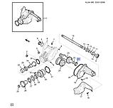 Сальник вала полуоси правый раздаточной коробки, Каптива C100/140, 19132945, фото 3