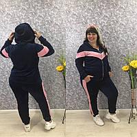 Спортивный женский костюм велюровый в расцветках