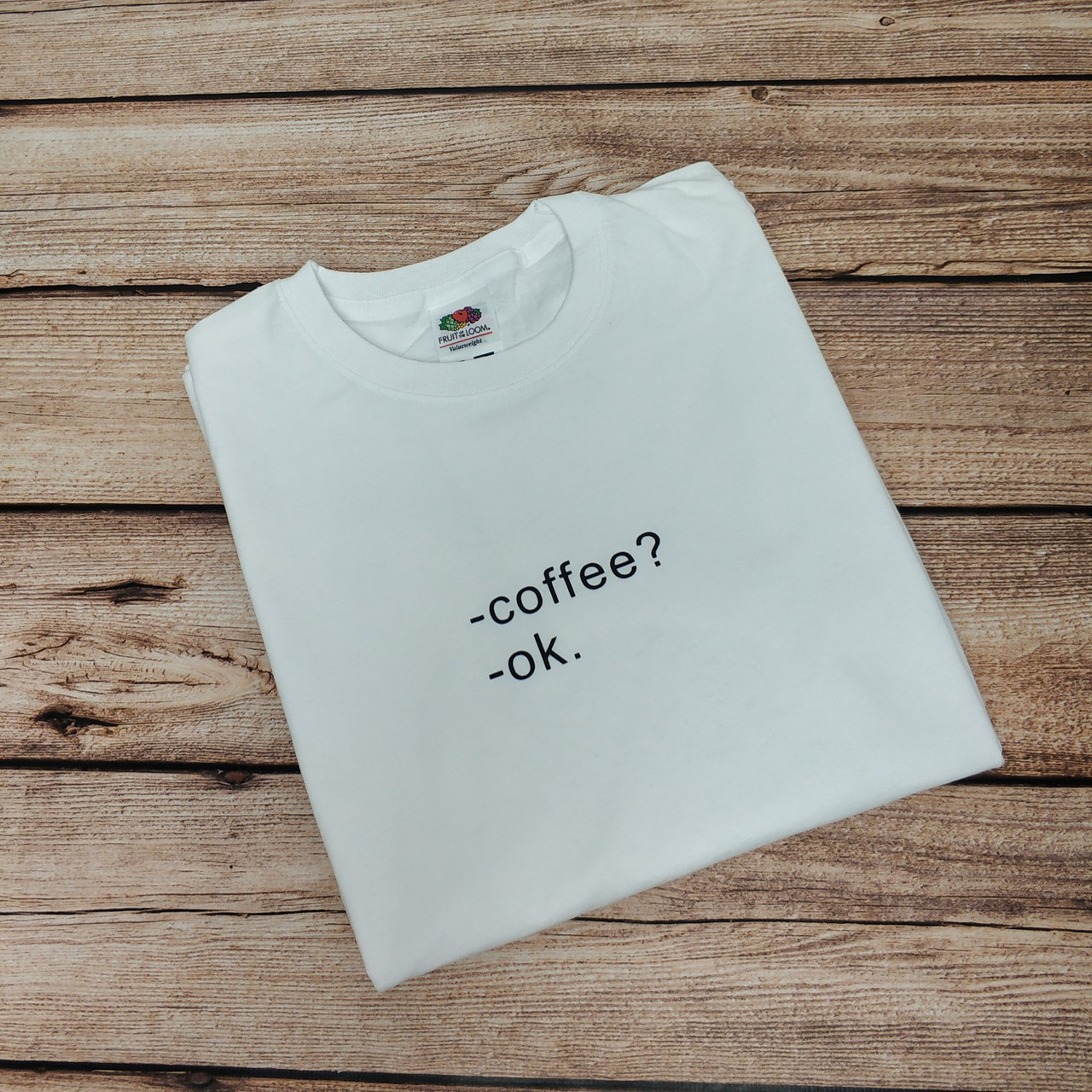 Футболка женская кофе coffee ok