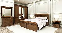 Классическая спальня Шопен орех