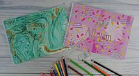 Альбом для рисования А4 30 листов На спирали Marble 130389 Yes Украина